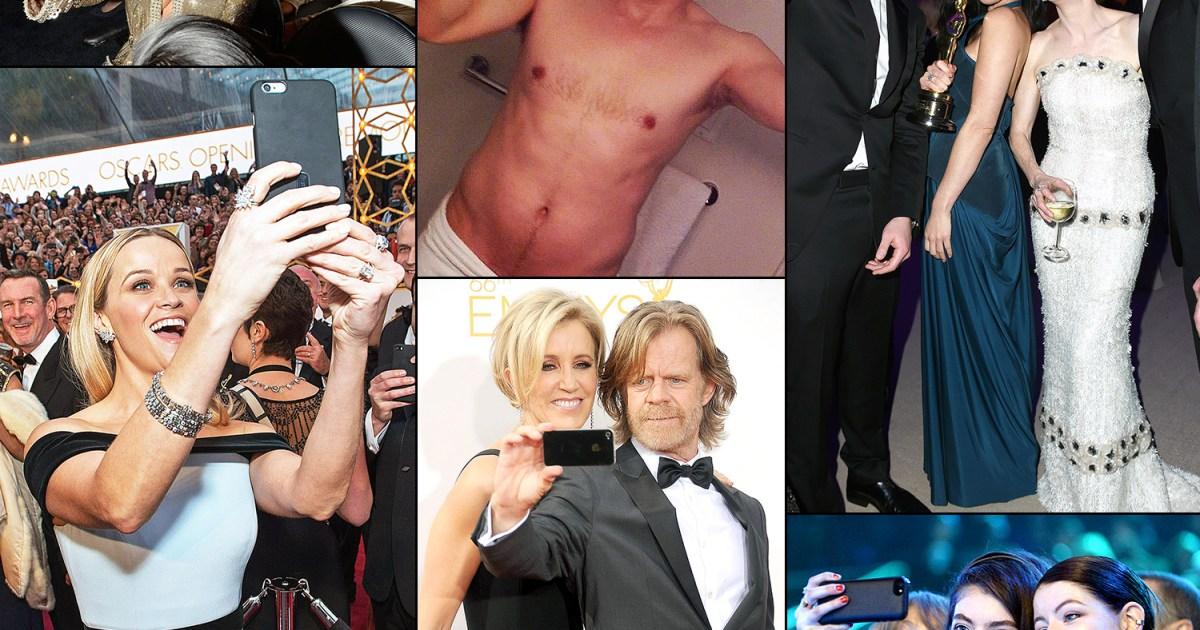 Kim Kardashian, Jennifer Lopez, Ellen DeGeneres and More Celebrities Who Have Taken Epic Selfies Through the Years