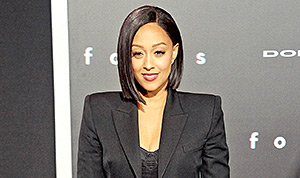 Tia Mowry Flashes Her Butt in a Sheer Dress: Red Carpet Photo