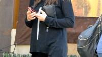 Mila Kunis has lunch at Kiwami in Studio City, California on March 2