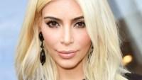Kim Kardashian at the Louis Vuitton Show on March 11, 2015.