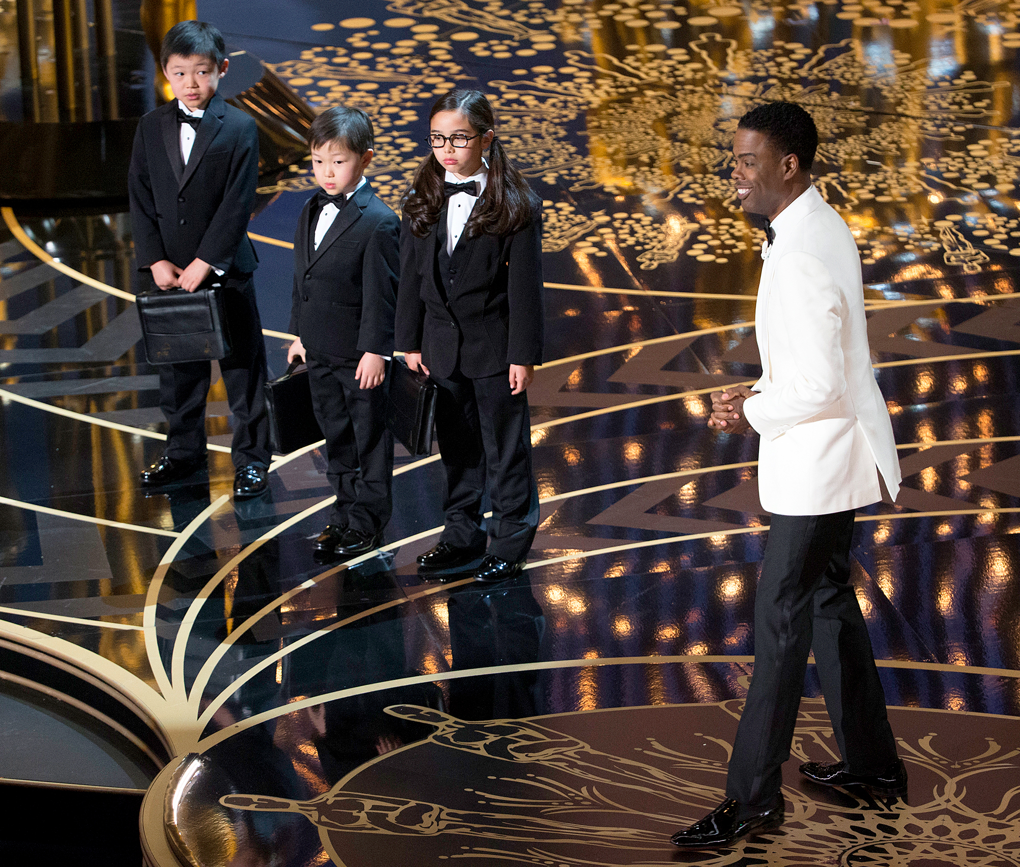 Chris Rock and PricewaterhouseCoopers