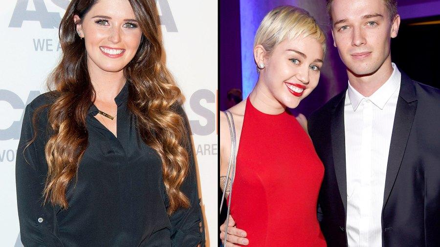 Katherine Schwarzenegger, Miley Cyrus and Patrick Schwarzenegger