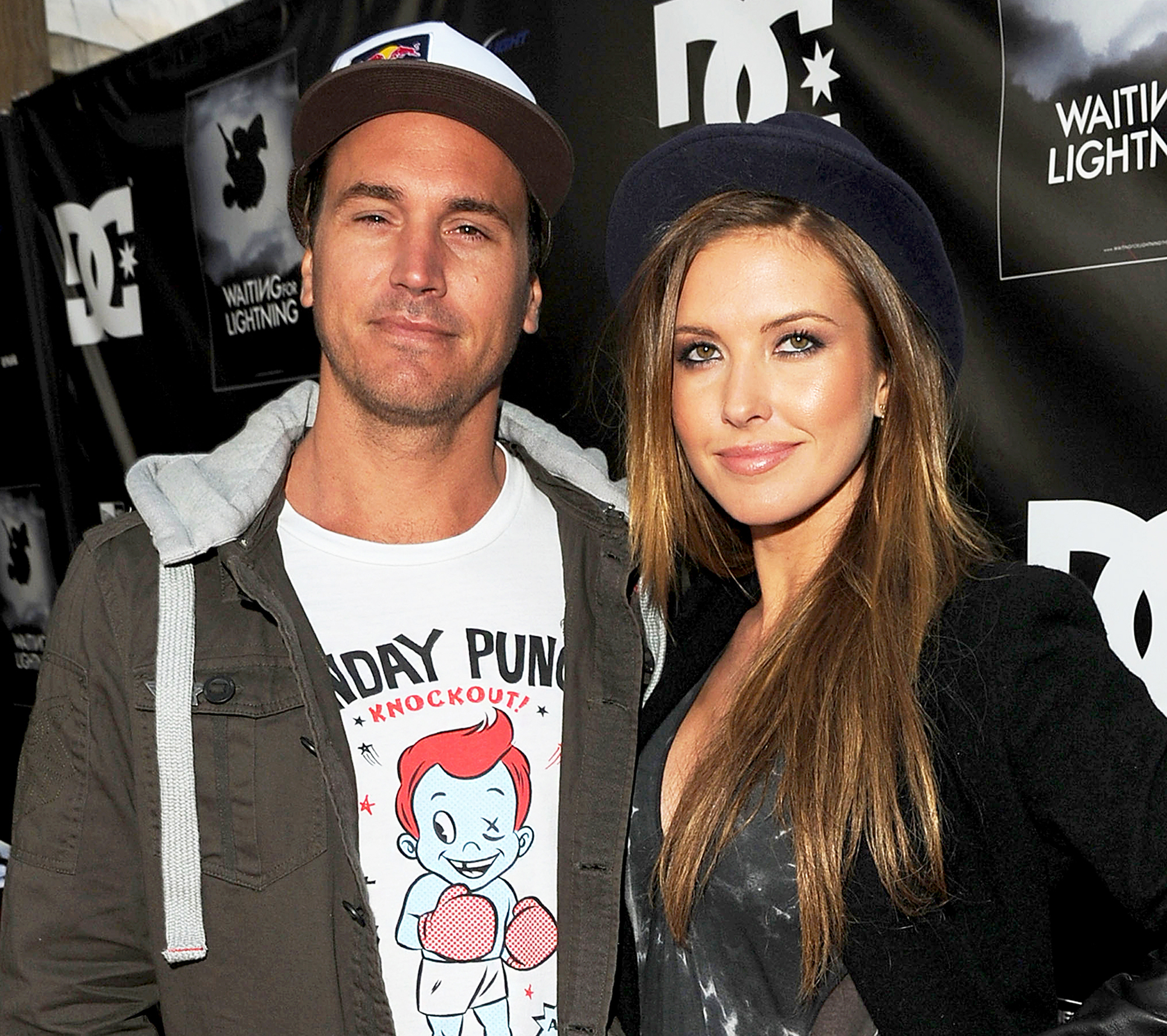 Corey Bohan and Audrina Patridge