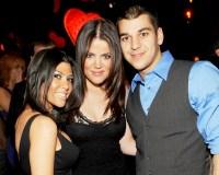 Kourtney Kardashian, Khloe Kardashian and Rob Kardashian