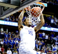 Willie Cauley-Stein #15 of the Kentucky Wildcats dunks on March 15.