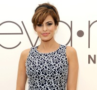 Eva Mendes on March 18, 2014 in Los Angeles, California.