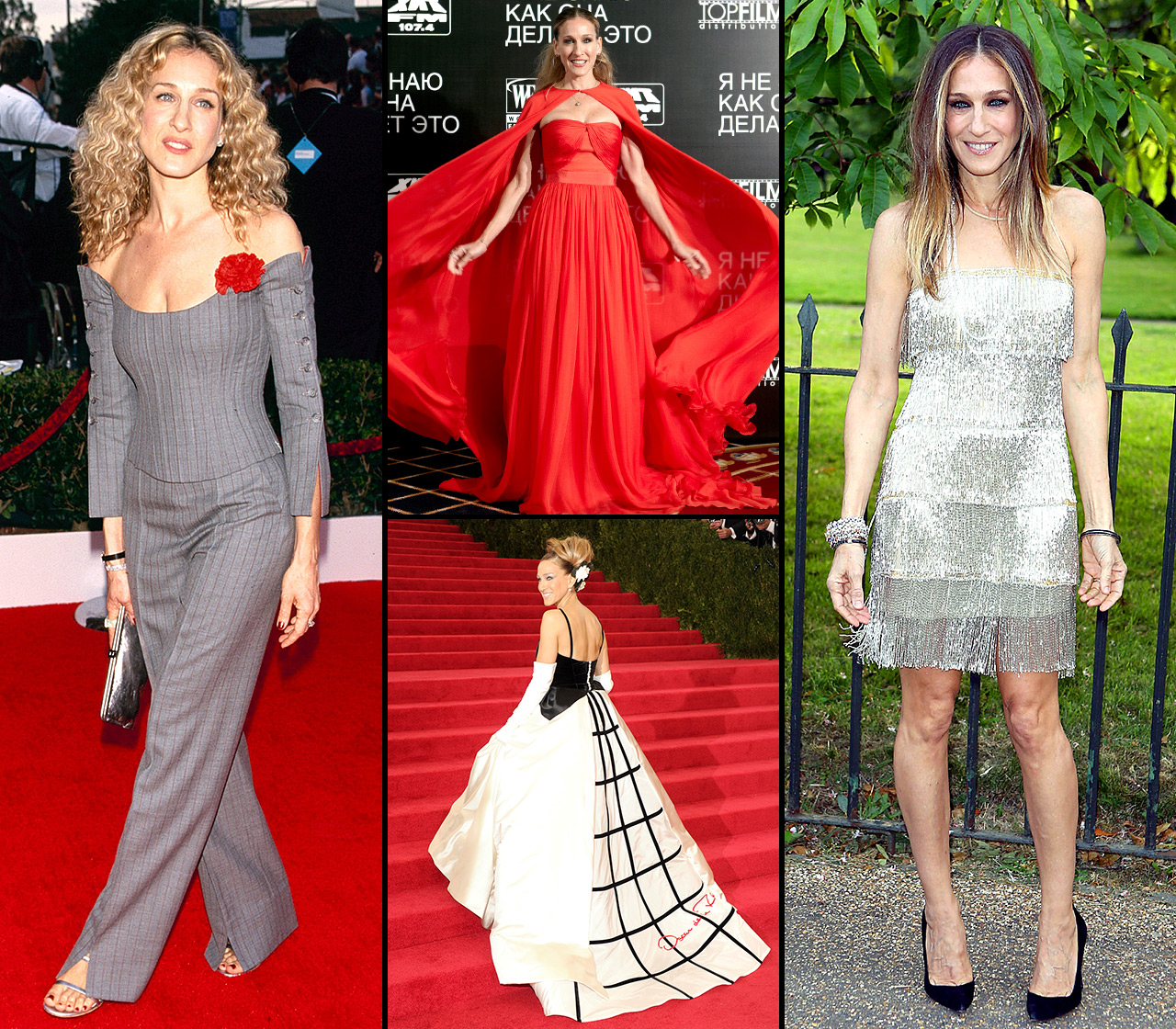Happy Birthday, Sarah Jessica Parker ! The former Sex and the City actress turns 54 on Monday, March 25, and while her on-screen character Carrie Bradshaw may be the most fashionable woman in television history, SJP is every bit the style star IRL.