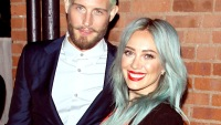 Nico Tortorella and Hilary Duff at TV Land's Younger premiere in NYC.