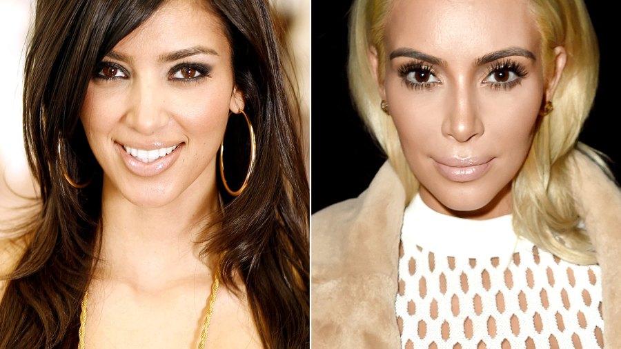 Kim Kardashian through the years