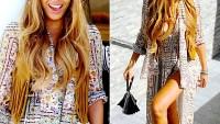 Beyonce Knowles' Coachella 2015 style