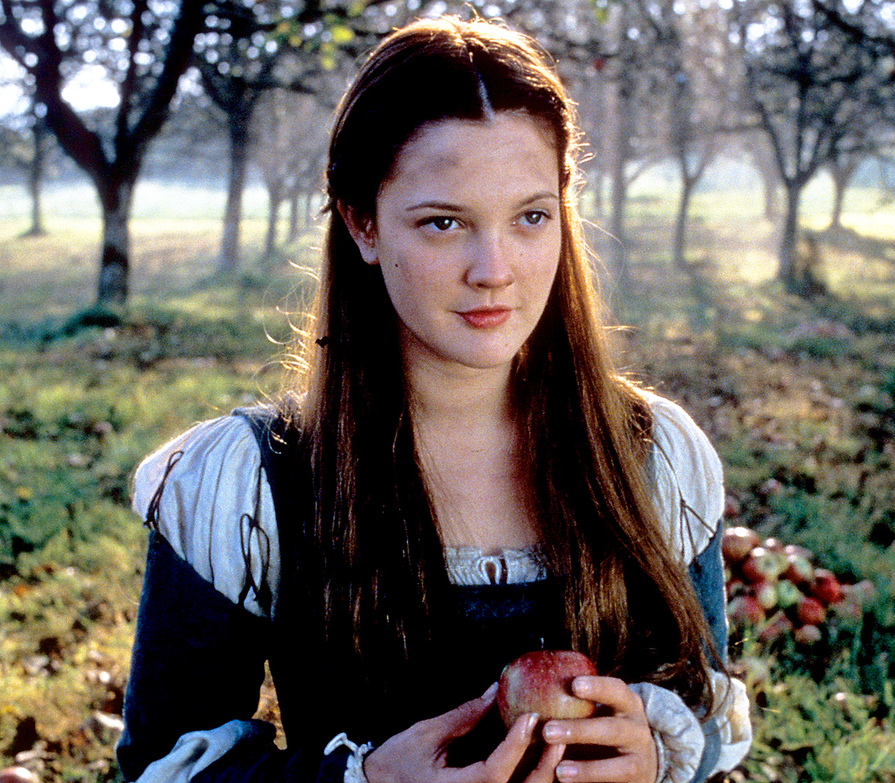 Inspired by Cinderella, 1998's Ever After saw Barrymore playing the lead role of Danielle de Barbarac — the kind daughter of a wealthy windower who is enslaved as a servant by her wicked stepmother.