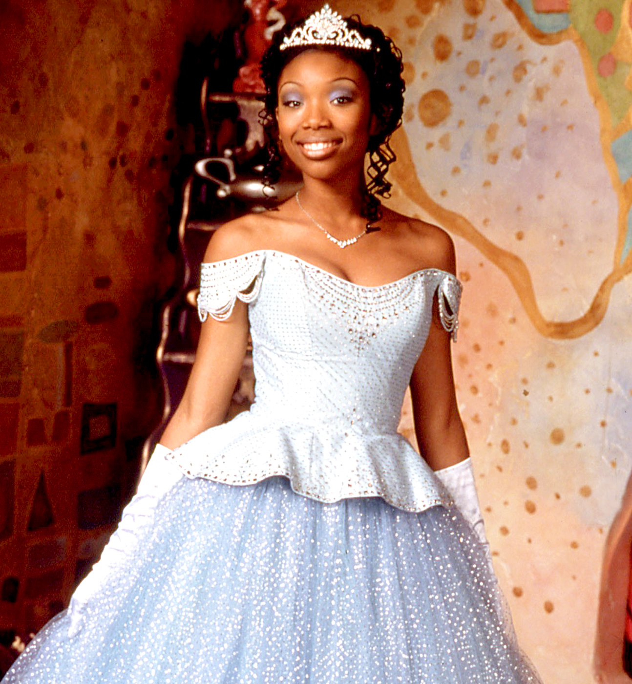 In 1997, the R&B superstar played the title role in Rodgers & Hammerstein's Cinderella . The all-star cast included Whitney Houston as the Fairy Godmother, Bernadette Peters as Cinderella's stepmother, Whoopi Goldberg as Queen Constantina and Victor Garber as King Maximillian.