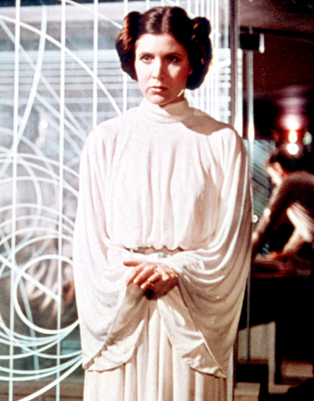 The late actress, who passed away in December 2016 at the age of 60, first took on the role of Princess Leia in Star Wars in 1977. She continued to reprise the role up until her last days with performances in the Empire Strikes Back and Return of the Jedi , and, more recently, the Force Awakens , the Last Jedi and the Rise of Skywalker .