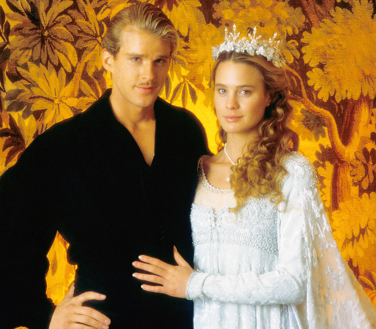 "Based on the 1973 novel of the same name, the 1987 film adaptation starred Wright as Buttercup, Princess of Florin in the Princess Bride . It quickly became a cult classic, earning the No. 88 spot in the American Film Institute's ""100 Years, 100 Passions"" list, which ranks the greatest movie romances of all time."