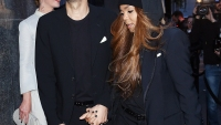 Wissam Al Mana and Janet Jackson in Milan on April 29, 2015