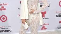 Jennifer Lopez at at 2015 Billboard Latin Music Awards on April 30.