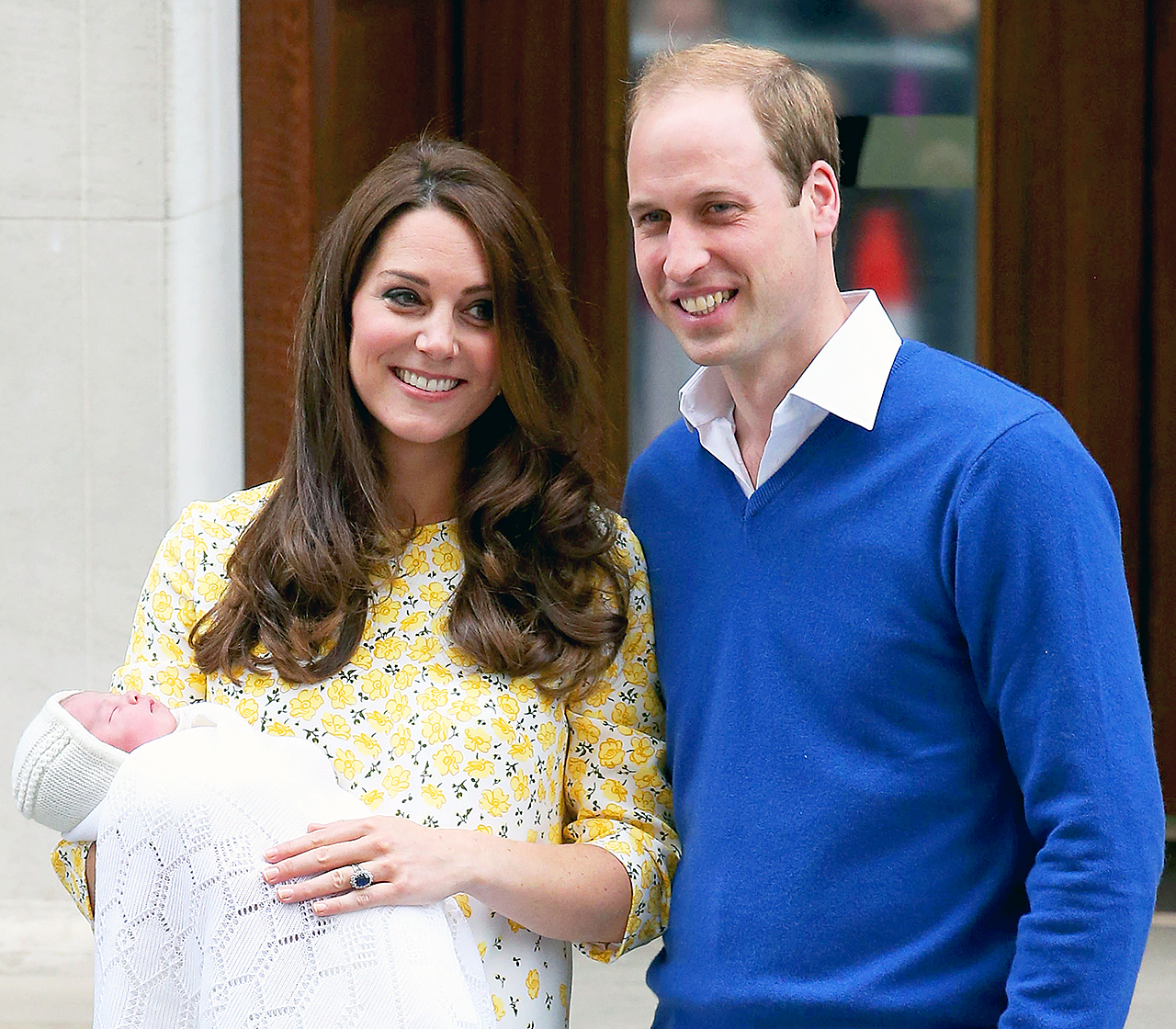 Kate Middleton and Prince William welcomed Prince George's little sister, Charlotte Elizabeth Diana, on Saturday, May 2, 2015 at St. Mary's Hospital in London. The baby girl, now fourth in line to the throne, arrived at 8:34 am local time and weighed 8 lbs.