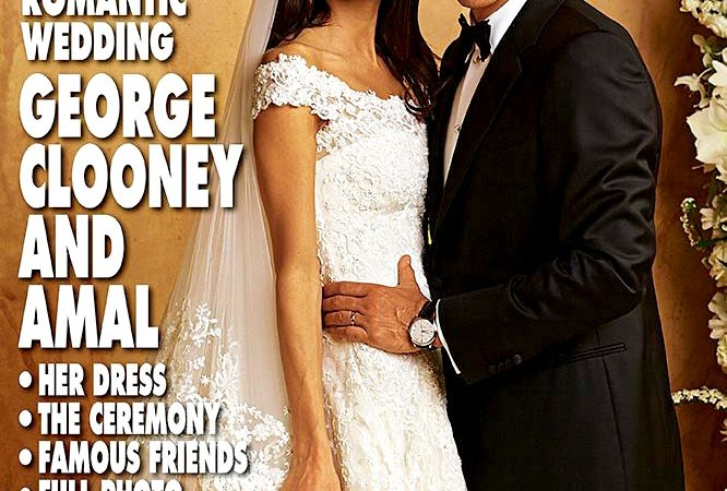 George and Amal Clooney's Love Story