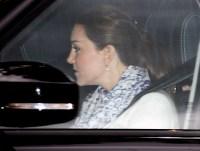 Kate Middleton leaves Kensington Palace on May 6, 2015