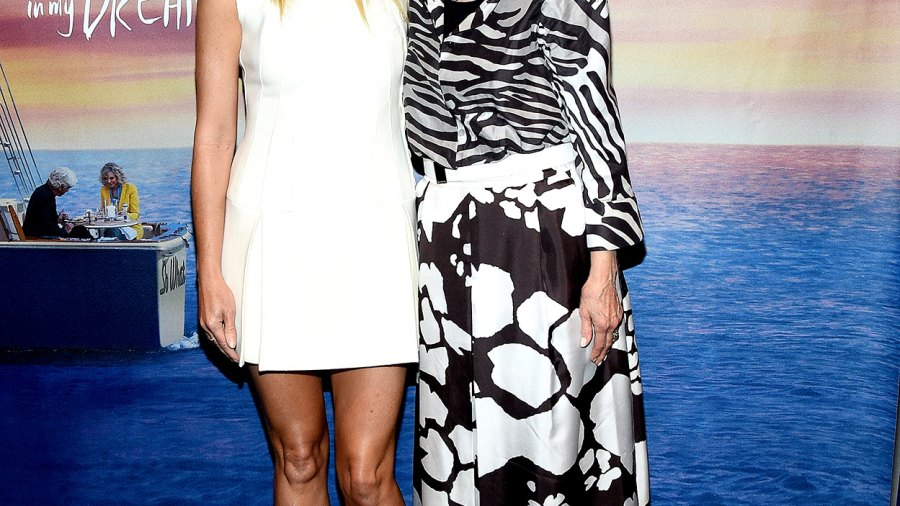 Gwyneth Paltrow and Blythe Danner