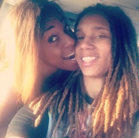Glory Johnson and Brittney Griner