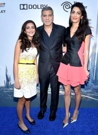 George Clooney Amal Alamuddin Niece