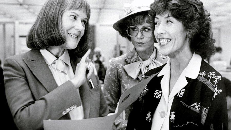Elizabeth Wilson, Jane Fonda and Lily Tomlin