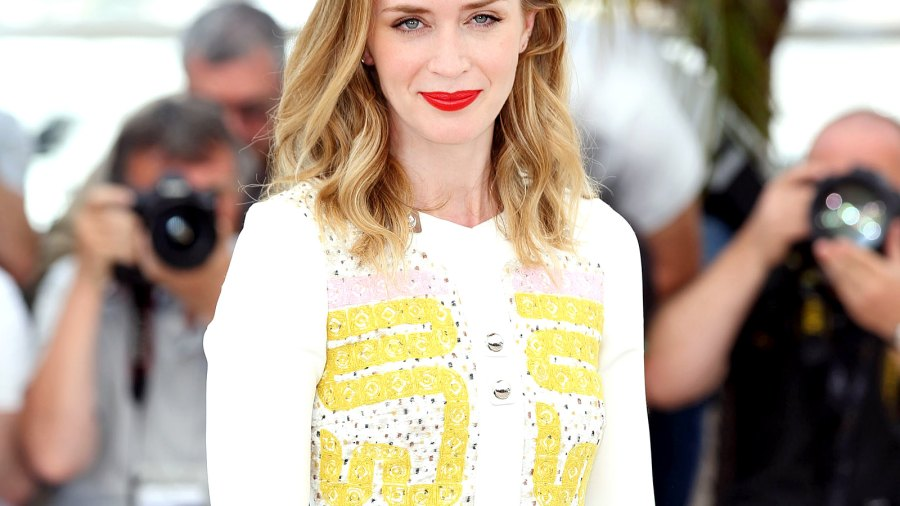 "Emily Blunt at the ""Sicario"" Photocall during Cannes Film Festival."