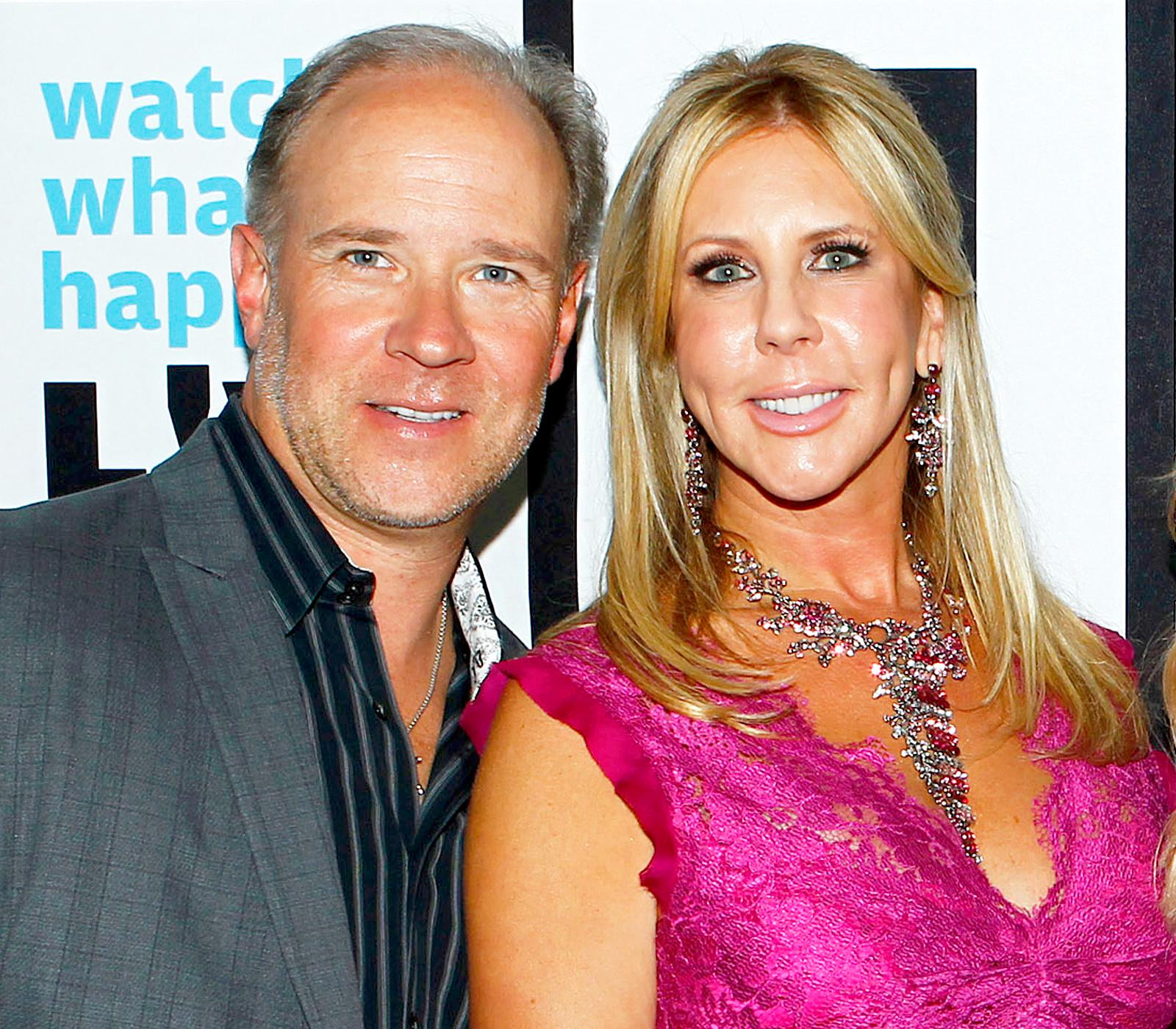 Brooks Ayers and Vicki Gunvalson