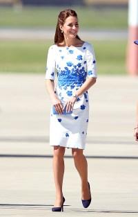 Kate Middleton visits RAAF Base Amberley on April 19, 2014 in Brisbane