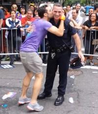 hot cop dances at pride parade