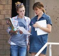 Jennifer Garner wearing her wedding ring on July 7, 2015