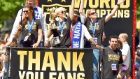 The U.S. Women's soccer team celebrated their World Cup win on July 10
