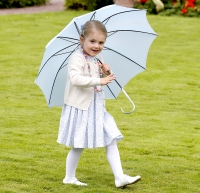 Princess Estelle at her mom's bday party
