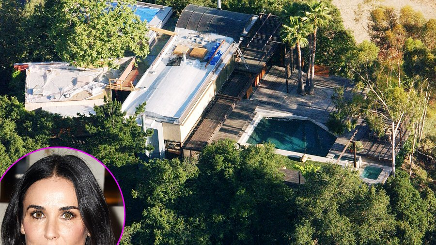 Demi Moore's house