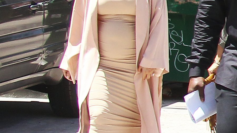 Kim Kardashian in Los Angeles on July 26, 2015
