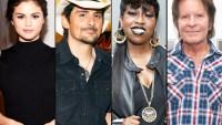 Selena Gomez, Brad Paisley, Missy Elliot and John Fogerty