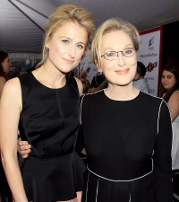 """Mamie Gummer and Meryl Streep at the premiere of """"RICKI AND THE FLASH"""""""