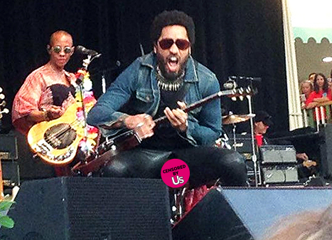 Lenny Kravitz Pants split