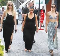 Kim Kardashian, Khloe Kardashian and Kendall Jenner