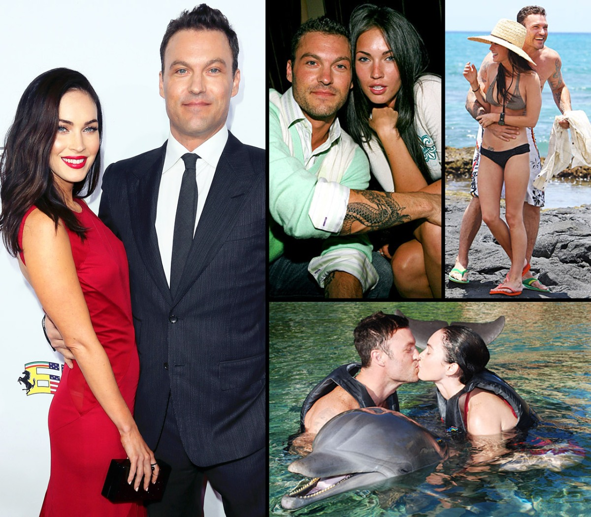 Brian Austin Green Girlfriends Complete megan fox and brian austin green: the way they were