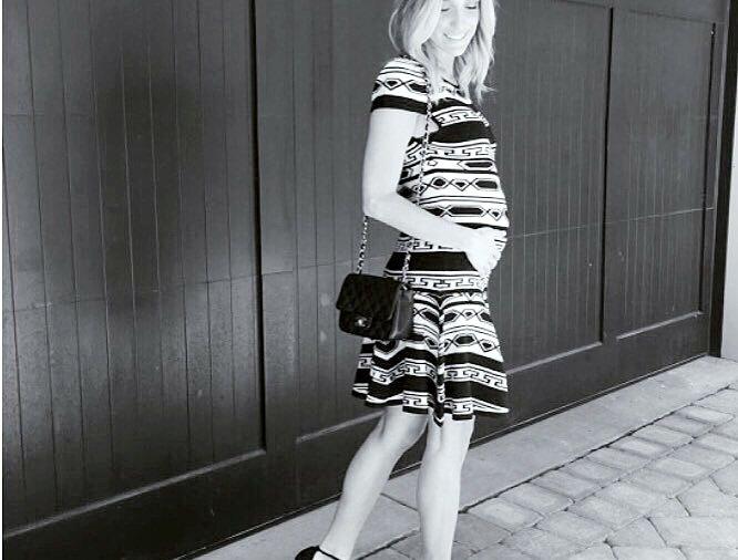 Pregnant Kristin Cavallari shares a bump picture on Instagram