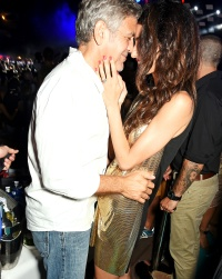 George Clooney and Amal Alamuddin at the launch of Casamigos Tequila