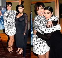 Kris Jenner and Kim Kardashian at Nobu Malibu on August 24, 2015