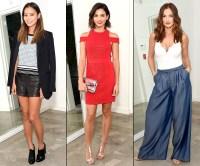 Jamie Chung, Jenna Dewan Tatum, Minka Kelly at The A List party