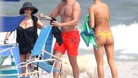 Bradley Cooper, Irina Shayk and Gloria Campano