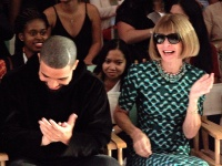 Drake and Anna Wintour at Serena Williams Signature Collection By HSN