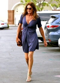 Caitlyn Jenner goes to a movie on September 21, 2015.