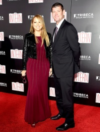 """Mariah Carey and James Packer at """"The Intern"""" New York premiere"""
