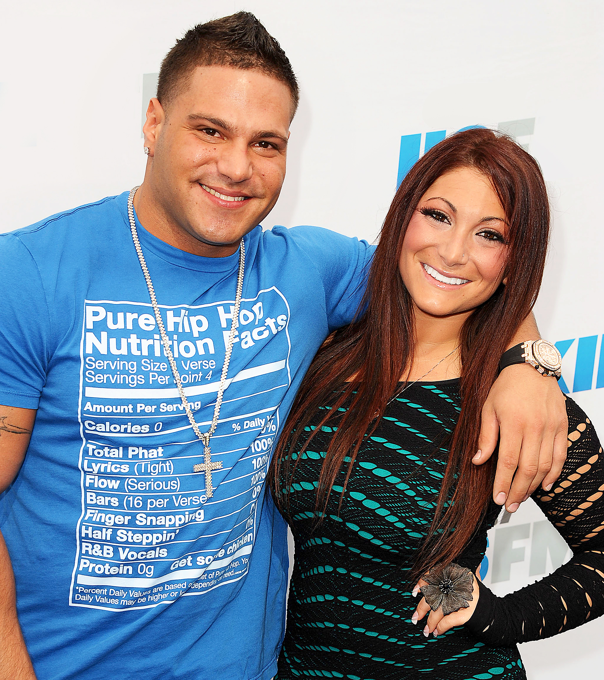 Ronnie Ortiz-Magro and Deena Nicole Cortese